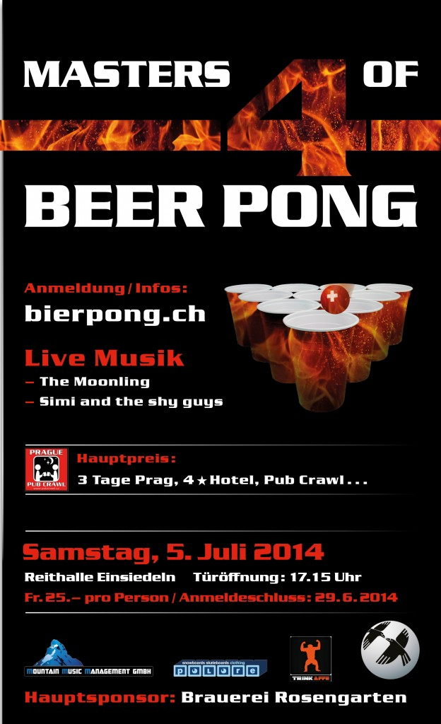 Masters of Beer Pong 4